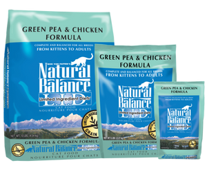 Natural Balance Green Pea & Chicken Cat Food