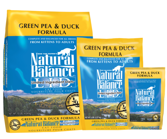 Natural Balance Dry Food - Green Pea & Duck Cat Food