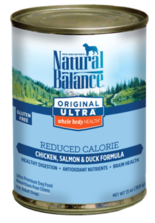 Natural Balance Ultra Reduced Calorie Canned Dog Food