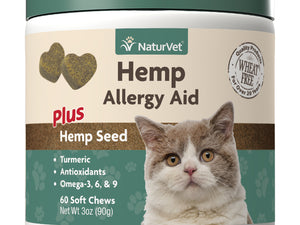 Naturvet Hemp- Allergy Aid For Cats