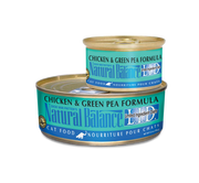 Natural Balance Chicken & Green Pea Cat Food