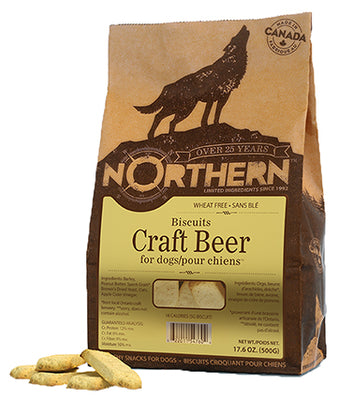 Northern Wheat Free Craft Beer Biscuits for Dogs 500 g