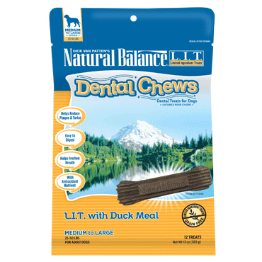 Natural Balance Dental Chew - Duck Meal