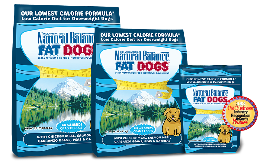 Natural Balance Dry Food - Fat Dogs Low Calorie Dog Food