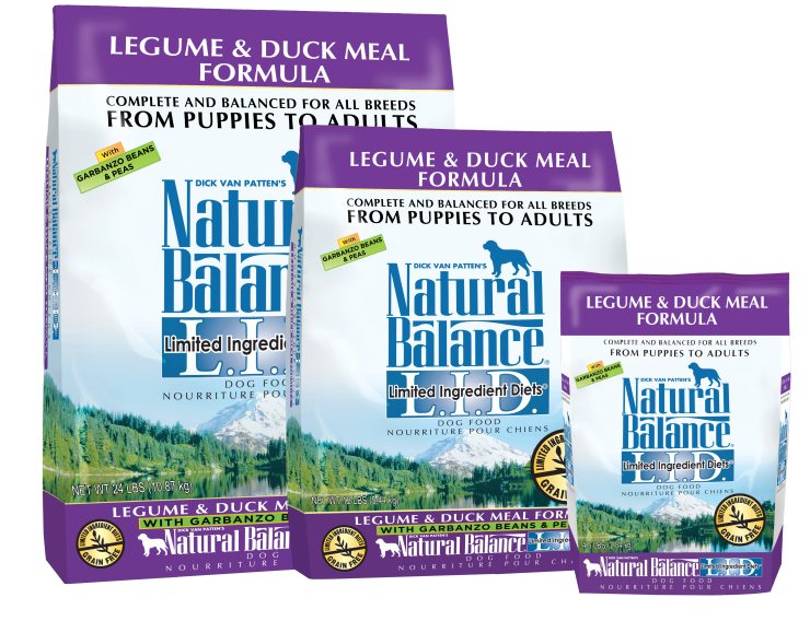 Natural Balance Dry Food -  L.I.D Legume & Duck Meal Dog Food - SALE