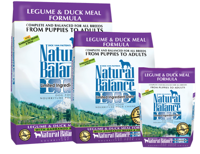 Natural Balance L.I.D Legume & Duck Meal Dog Food