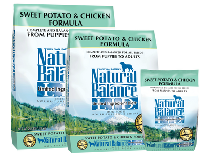 Natural Balance Sweet Potato & Chicken Dog Food