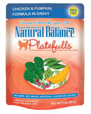 Natural Balance Platefulls - Chicken & Pumpkin