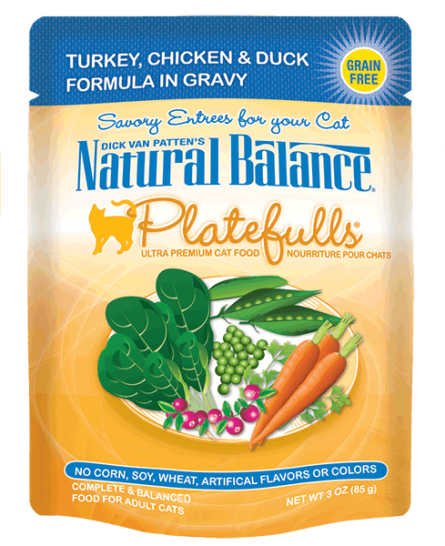Natural Balance Platefulls - Turkey, Chicken & Duck