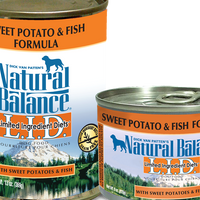 Natural Balance Sweet Potato & Fish Dog Food
