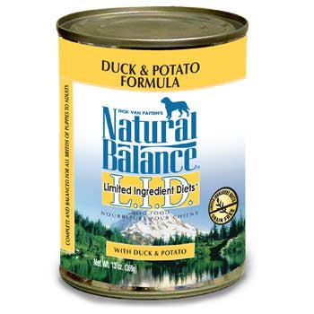 Natural Balance Duck & Potato Canned Dog Food