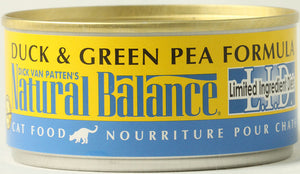 Natural Balance L.I.D. Duck & Green Pea Cat Food