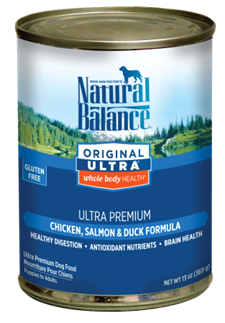 Natural Balance Ultra Canned Dog Food