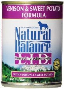 Natural Balance Venison & Sweet Potato Canned Dog Food