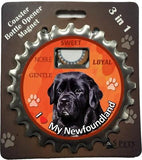 Bottle Ninja - 3 in 1 Coaster/Bottle Opener/ Magnet - Newfoundland
