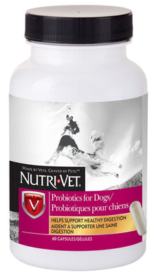 Nutri-Vet® Probiotic Capsules for Dogs 60 ct