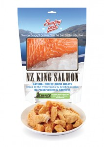 Sunday Pets NZ King Salmon 50g