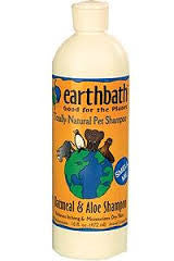 Earthbath Oatmeal and Aloe Shampoo, Vanilla Almond Scent