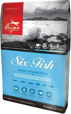 Orijen - Six Fish Dry Dog Food