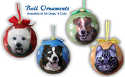 Christmas Ball Pet Ornaments