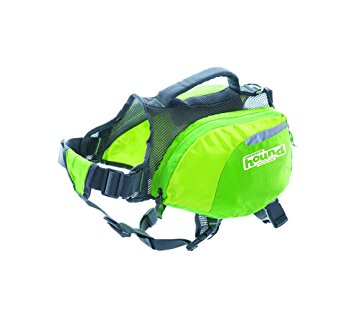 outward hound daypak green small dog backpack