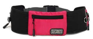Outward Hound - Hands Free Leash Pink
