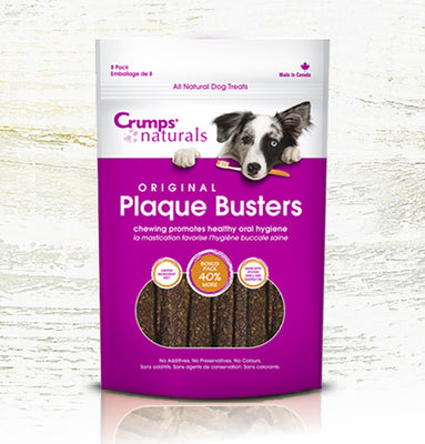 Crump's Natural Plaque Busters - 8 pack - Original