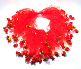 Charming Pet - Party Collar - Red Roses