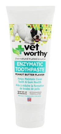Vet Worthy Enzymatic Tooth  - Peanut Butter Flavour