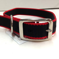Pet Pro Black/Red Dog Collars