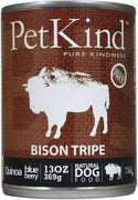 PetKind Canned Dog Food - Bison Tripe