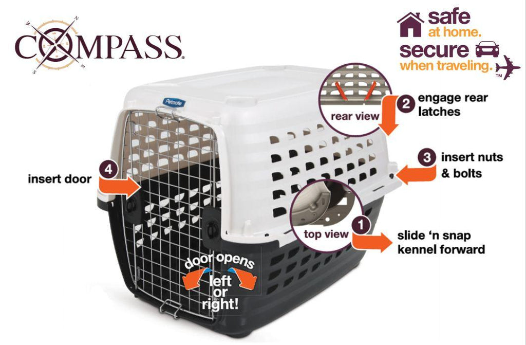 Petmate Compass Kennel for airline travel