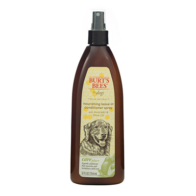 Burt's Bees Care Plus+ Nourishing Avocado & Olive Oil Leave-In Conditioner Spray Dog Spray 12 oz