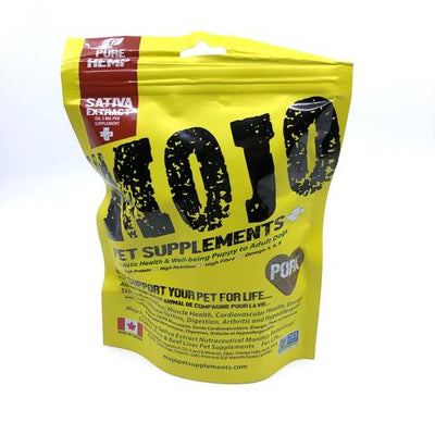 Mojo Pet Supplement Hemp Pork Treat
