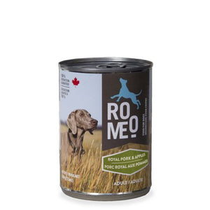 Romeo - Canned Dog Food - Royal Pork & Apples