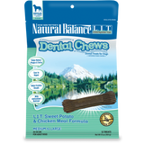Natural Balance Dental Chew - L.I.T. Swert Potato & Chicken Meal