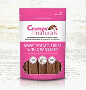 Crumps' naturals Sweet Potato Strips with Cranberry 160g