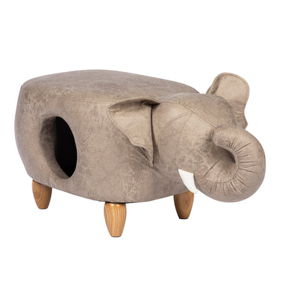 Prevue Elephant Ottoman for cats & small dogs