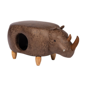 Prevue Rhinocerous Ottoman for cats & small dogs