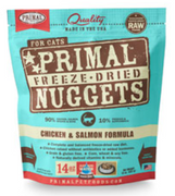 Primal Freeze-Dried Chicken & Salmon Nuggets for Cats
