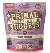 Primal Freeze-Dried Turkey Nuggets for Cats