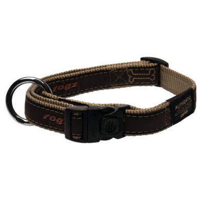 rogz beach bum bronze bone collar