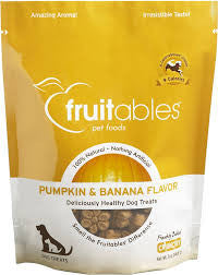 Fruitables Pumpkin & Banana Flavor 7 oz Dog Treat
