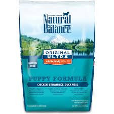 Natural Balance  Dry Food - Original Ultra Whole Body Health Puppy Food