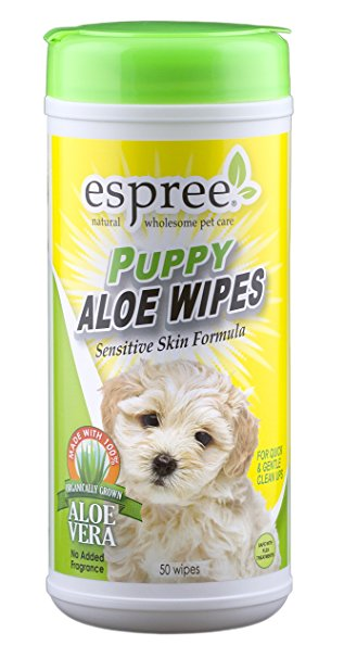 Puppy Wipes 50 ct