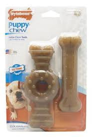 Nylabone Puppy Chew-Twin Pack