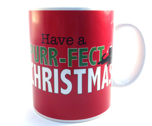 Christmas Mug - Have A Purr-Fect Christmas