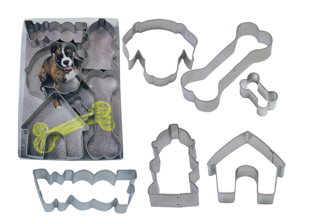 R & M Woof 6PC Cookie Cutter Set