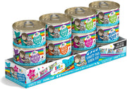 Weruva B.F.F. OMG - Oh My Gravy! Variety Pack 2.8-Ounce Can (Pack of 12 Cat