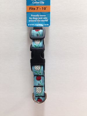 RC Pets Clip Collar XS - Lady Bug - 50% OFF SELECTED PATTERNS